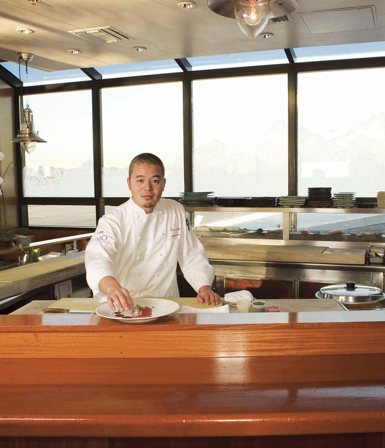 Sushi Chef Susumu Ueda
