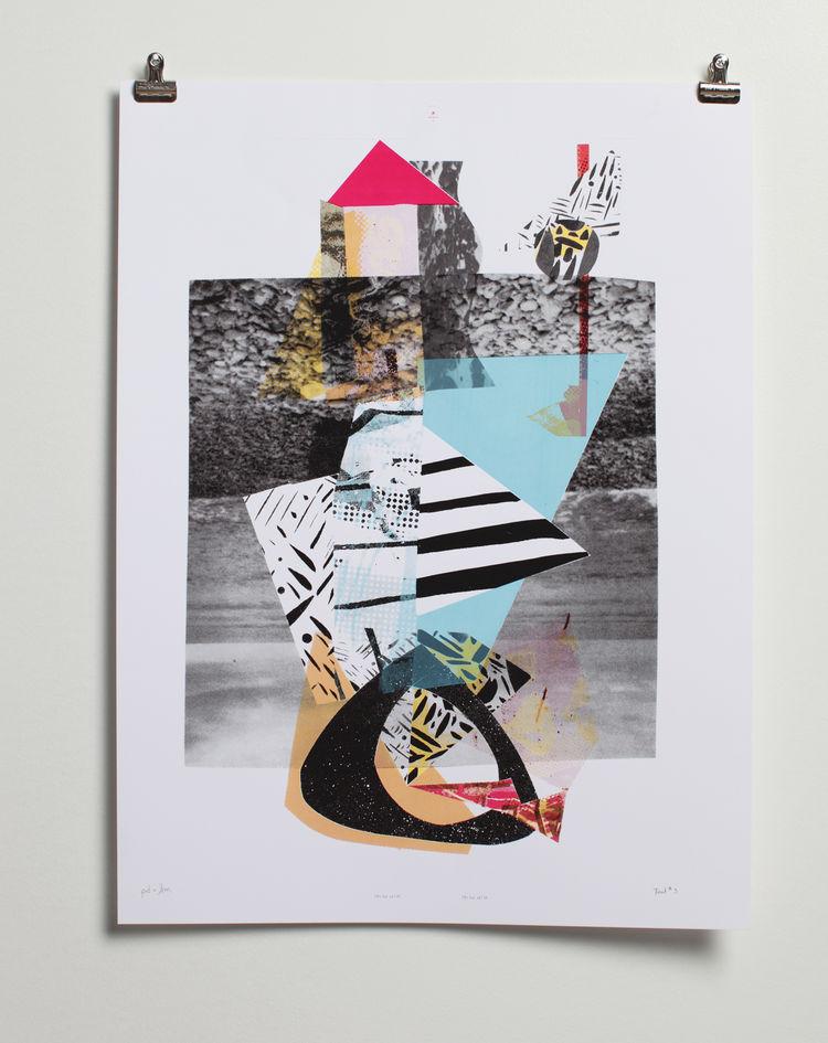 Make Ready 1 print by Scott Massey