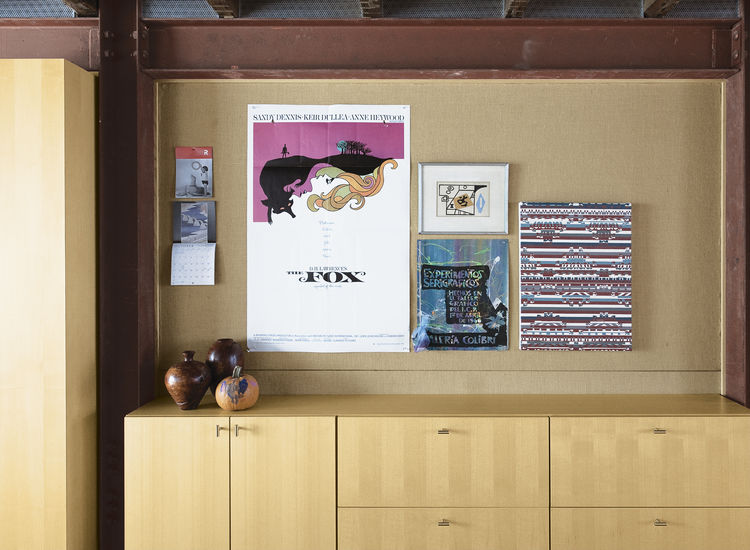 lange dixon brooklyn residence posters basement