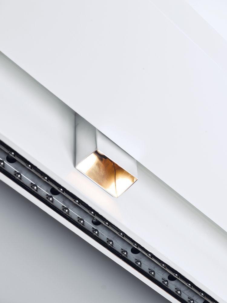 DIY designer-inspired aluminum light fixture