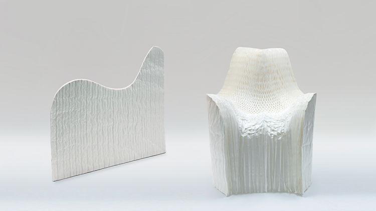 Tokujin Yoshioka, Honey Pop Chair, 2000-2001