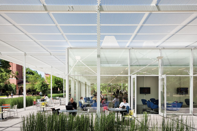 Raymond and Susan Brochstein Pavilion at Rice University designed by Thomas Phifer