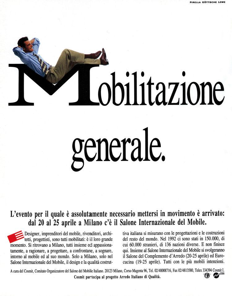 Salone Internazionale del Mobile 1993 poster