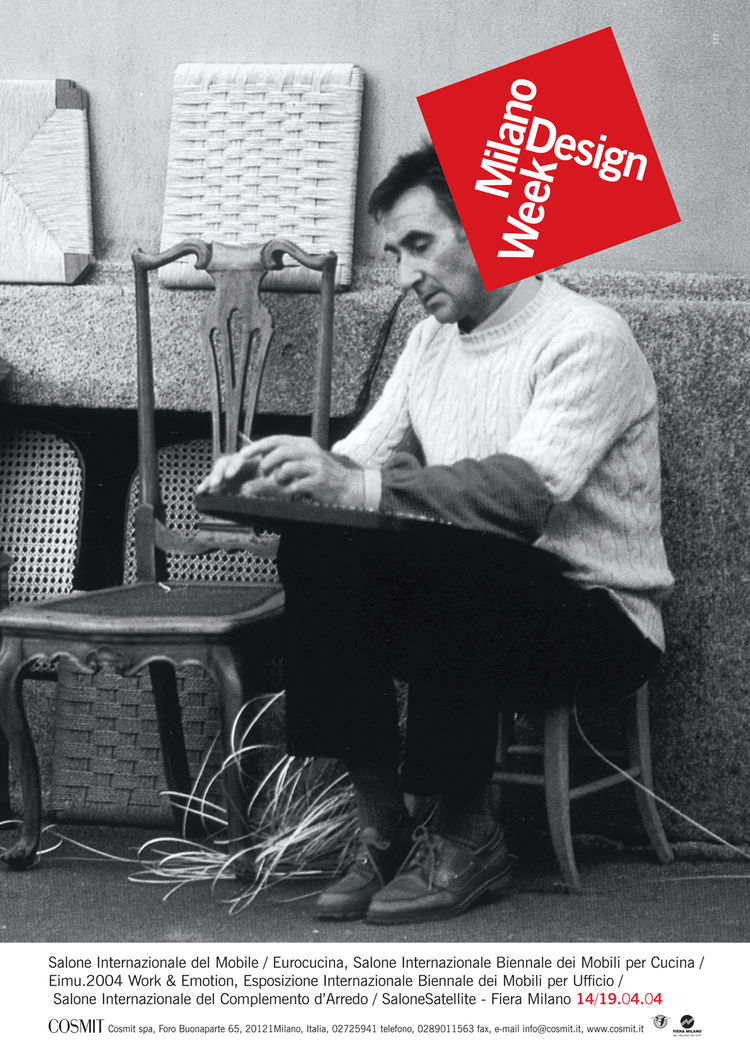 Salone Internazionale del Mobile 2004 poster