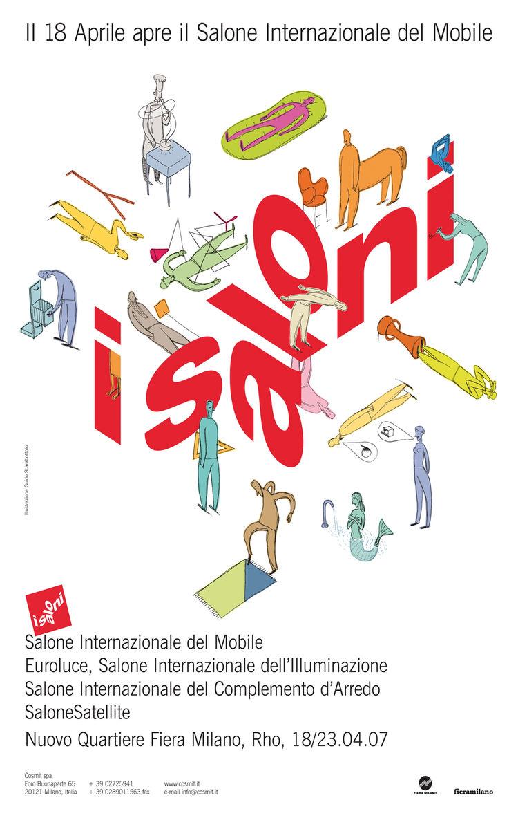 Salone Internazionale del Mobile 2007 poster
