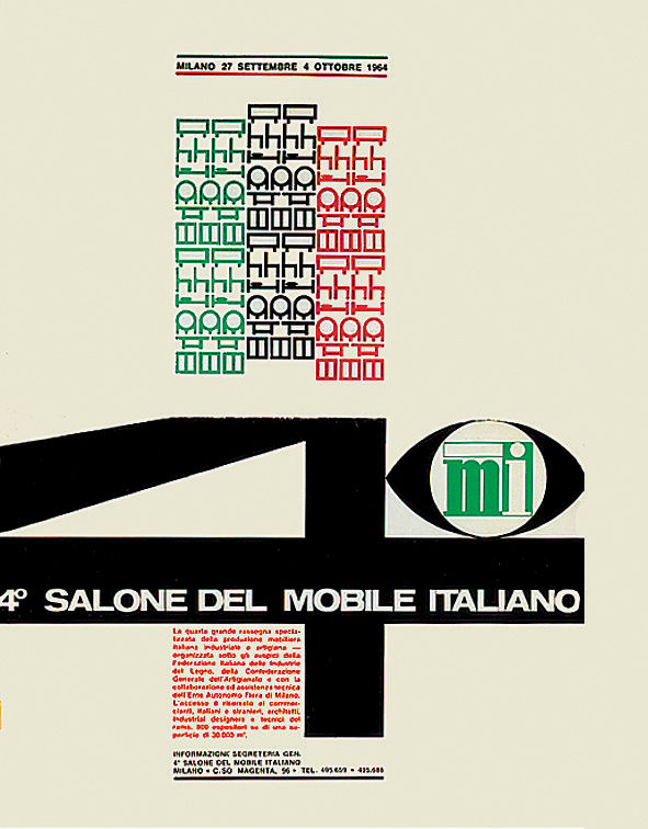 Salone del Mobile Italiano poster
