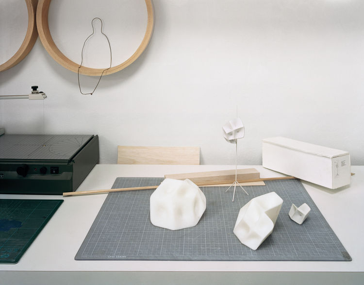 Monica Forster floor lamp paper models