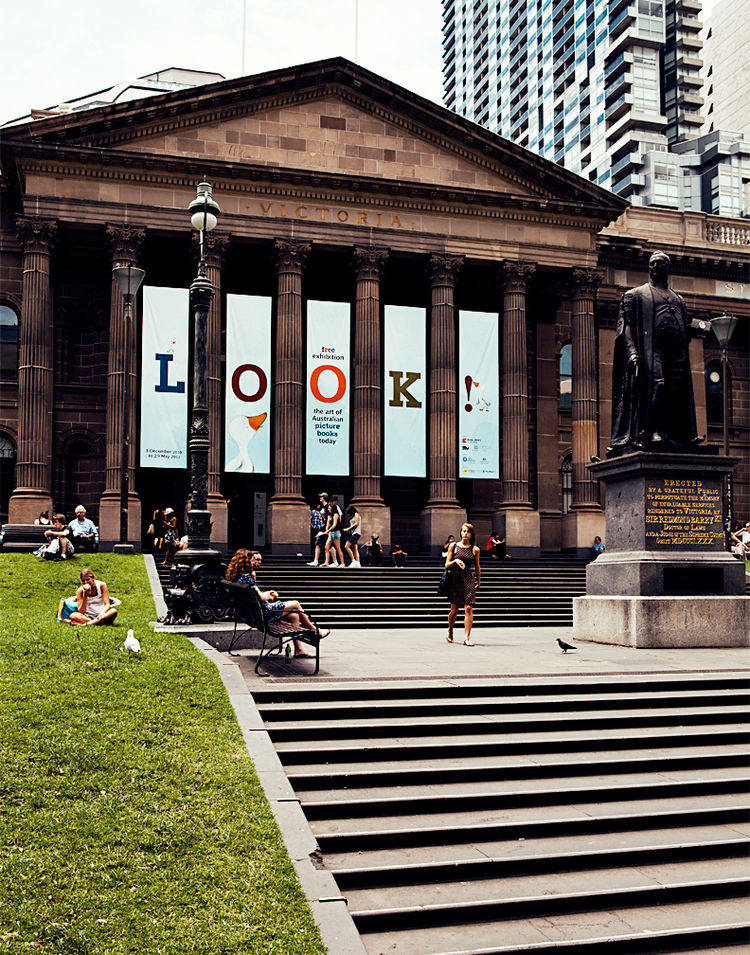State Library of Victoria in Melbourne, Australia