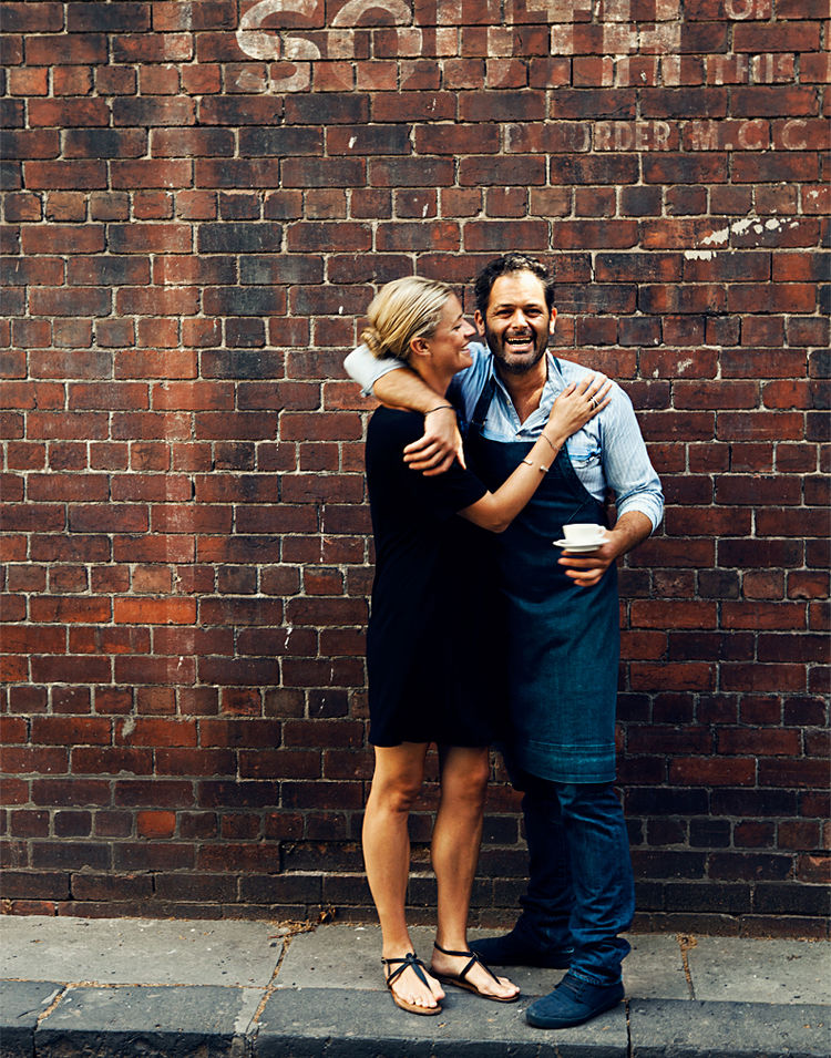 Owners of Liaison Café in Melbourne, Australia