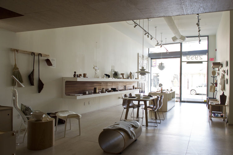 Mjolk store designed by Studio Junction Inc.