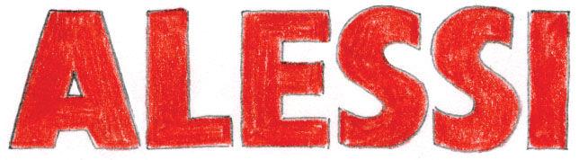 Alessi logo illustration