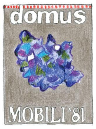 Domus Magazine 1928 illustration