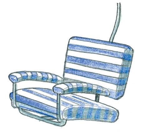 Seggiovia Chair illustration