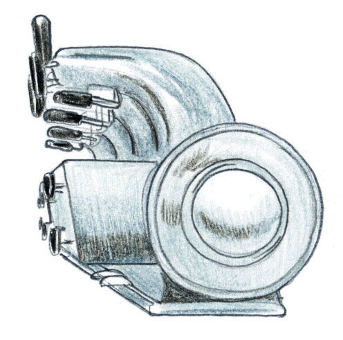 La Pavoni Espresso Machine Redesign illustration
