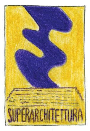 Superarchitettura Show poster 1966