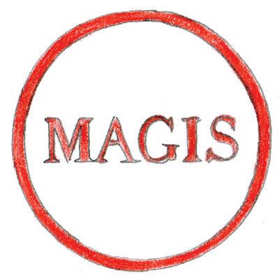 Magis 1976 logo illustration