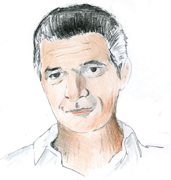 Guilio Cappelini portrait illustration