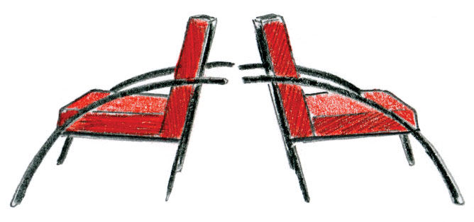 Parigi Chair by Aldo Rossi
