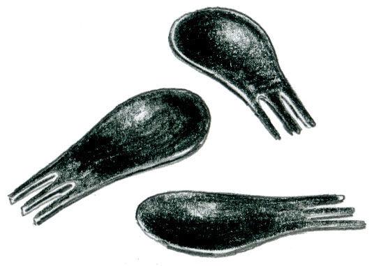 Moscardino Forks by Matteo Ragni