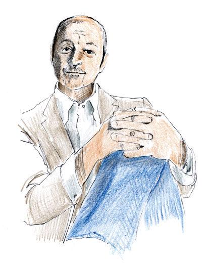 Piero Lissoni illustration