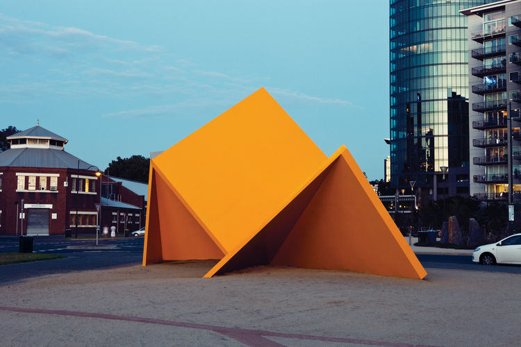 Vault by Ron Robertson-Swann public art installation