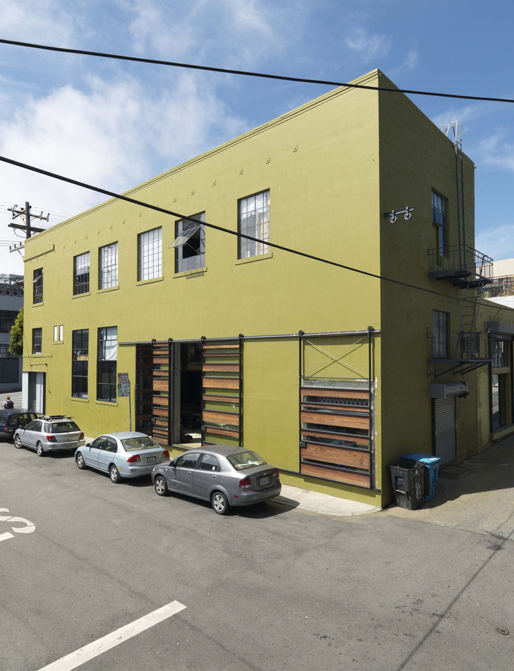 1940s-era building renovation in San Francisco, California