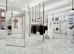 Jil Sander store dressing room