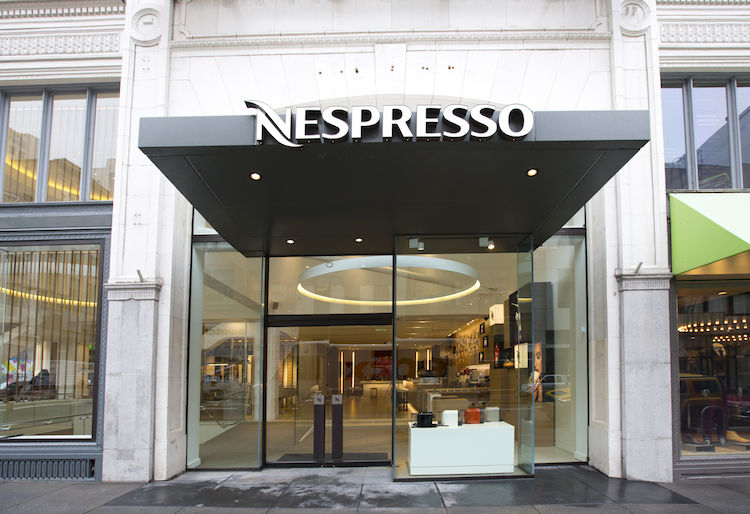 Nespresso, flagship, store, San Francisco