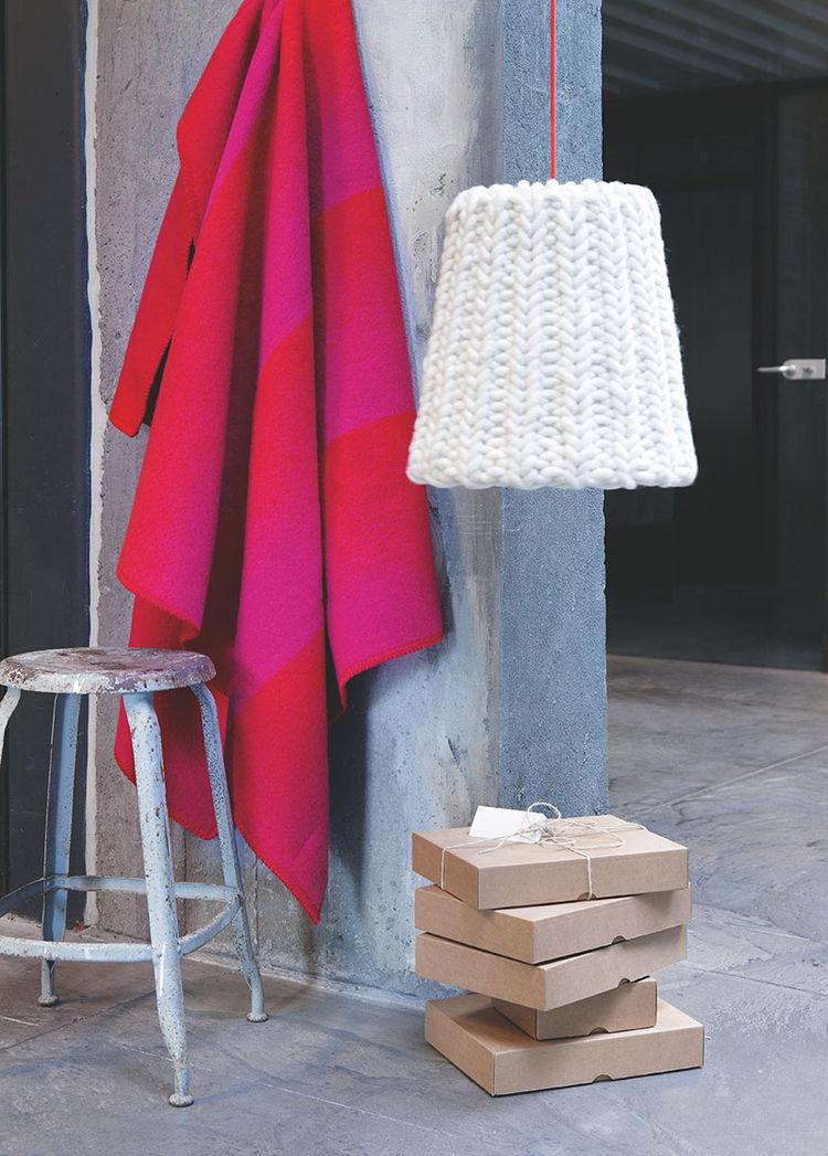 Berg wool throw by Anderssen & Voll