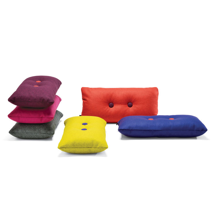 multi-colored modern cushions from HAY