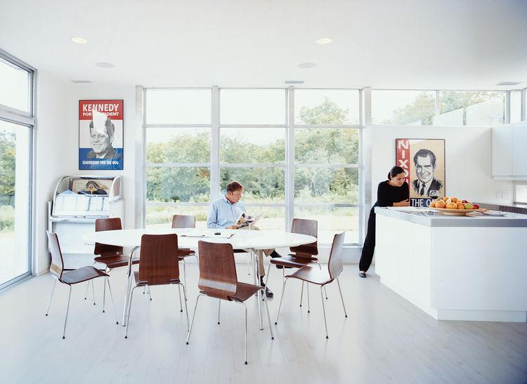Romero home white kitchen portrait