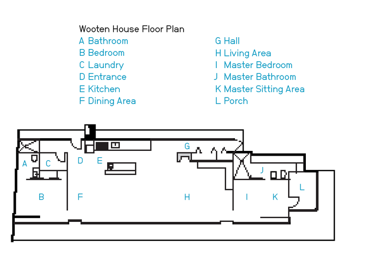 Wooten house floor plan