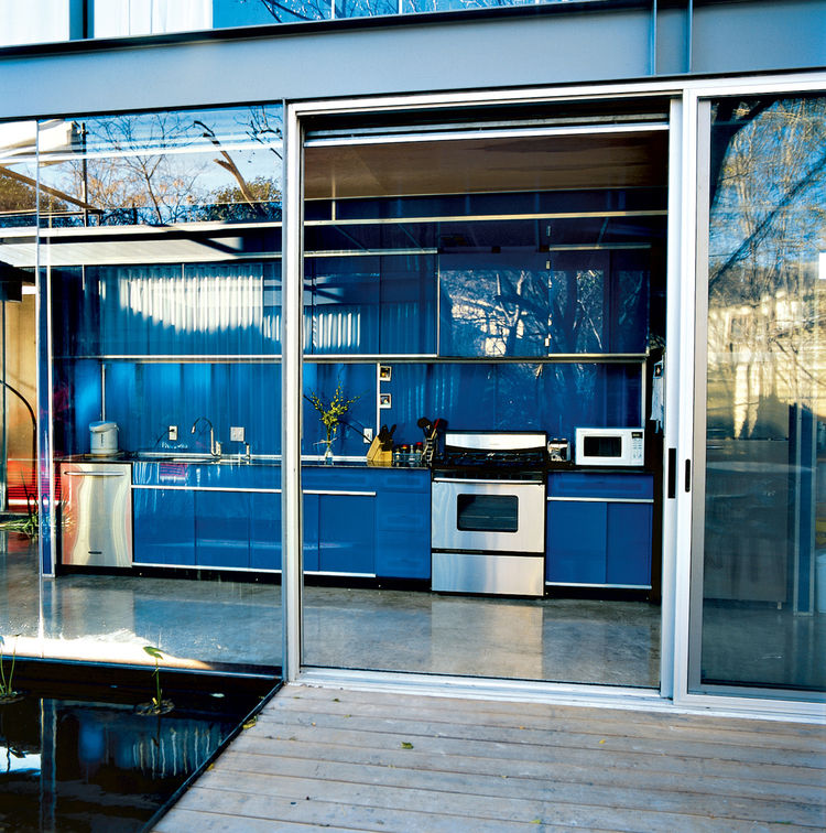 Bercy residence kitchen rear