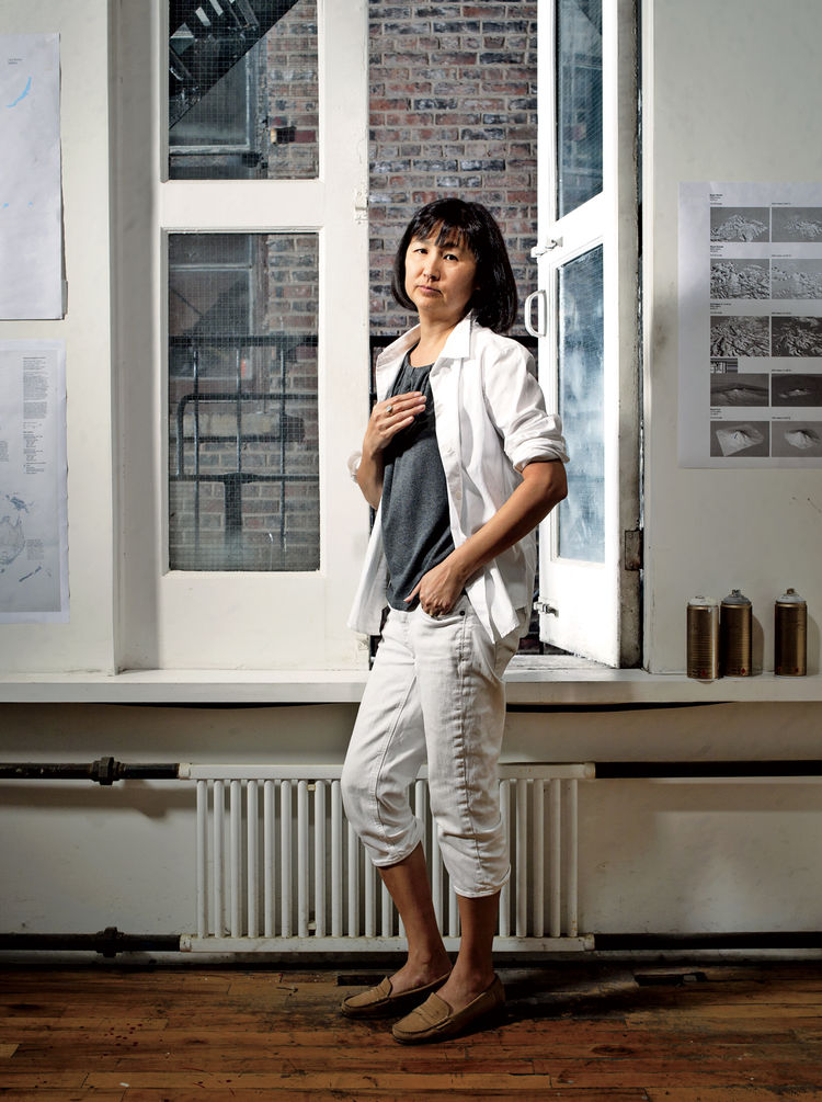 Portrait of Maya Lin.