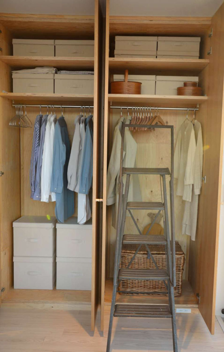 Ban House storage interior