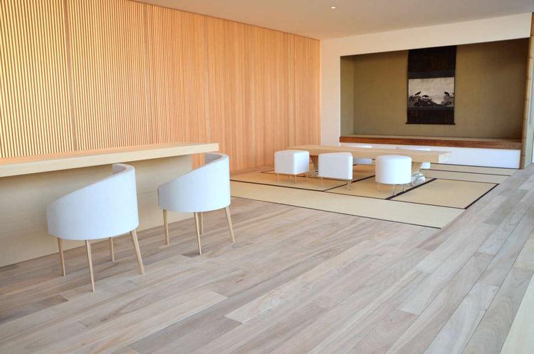 Hiroshi Sugimoto and Sumitomo Forestry designed interior