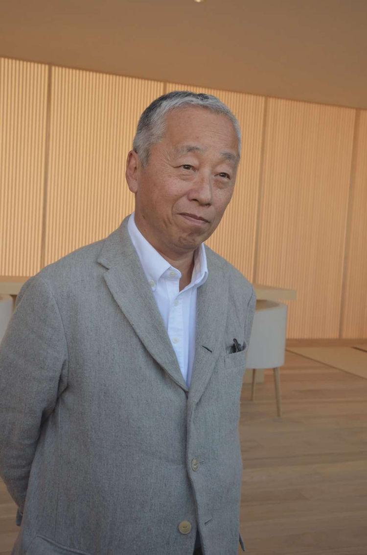 Portrait of Hiroshi Sugimoto