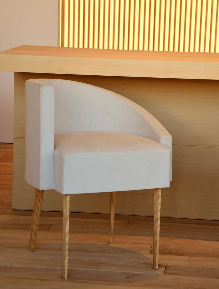 Chairs designed by Hiroshi Sugimoto