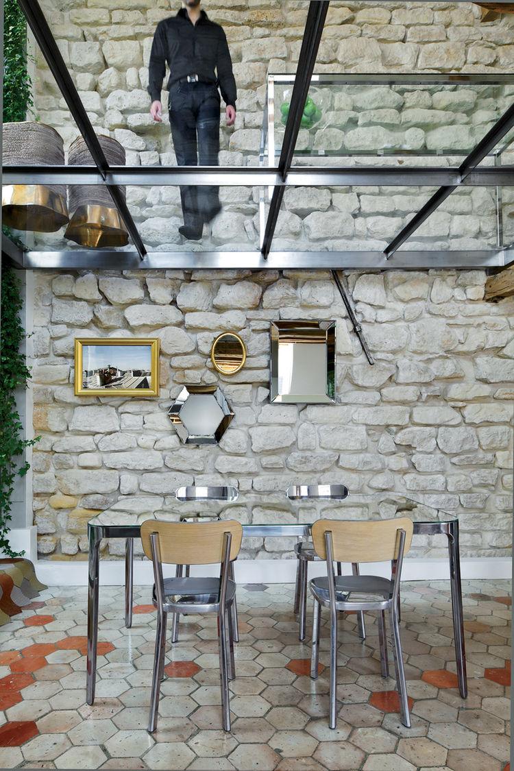 Rue vignon dinning room