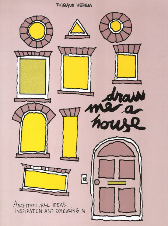 Draw Me a House coloring book