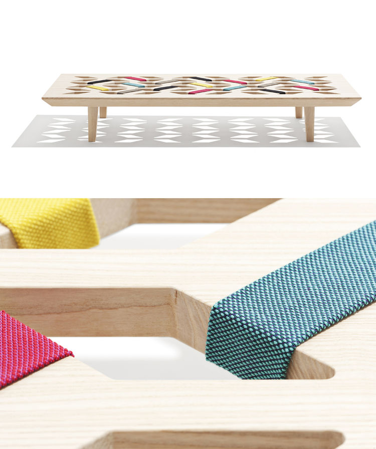 Young Danish designers' new furniture presented by Danish Crafts at Salone del Mobile.