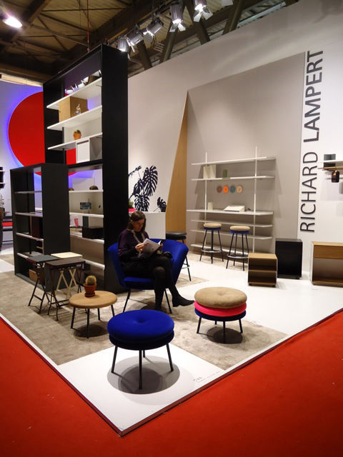 Richard Lampert booth at Salone 2013