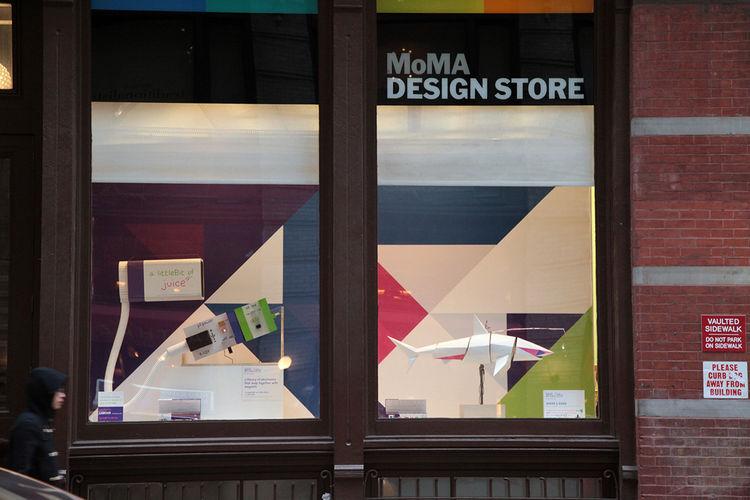 littleBits MoMA Design Store Window