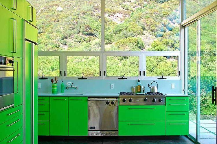 Bolander beauvoir green kitchen