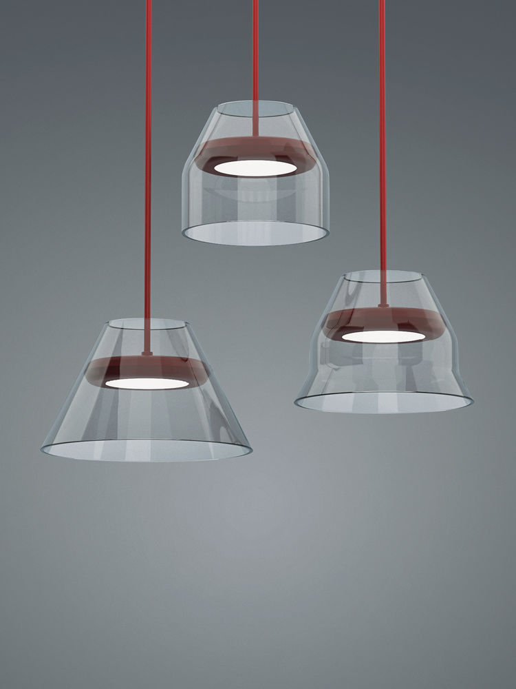 bonne chance glass suspension lights