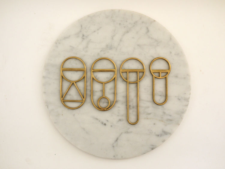 Cast-brass bottle openers by Fort Standard