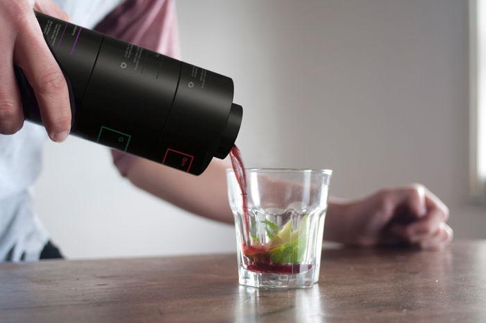 The Enkaja Bottle design by TATABI Studio