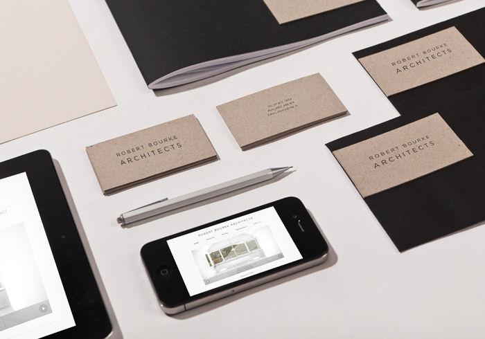 RBA Architects branding identity by TATABI Studio