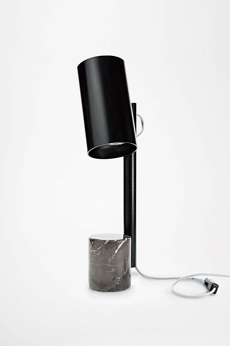 Quart table lamp by Rich Brilliant Willing