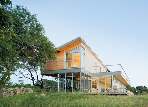 A modern retreat in Martha's Vineyard, Massachusetts